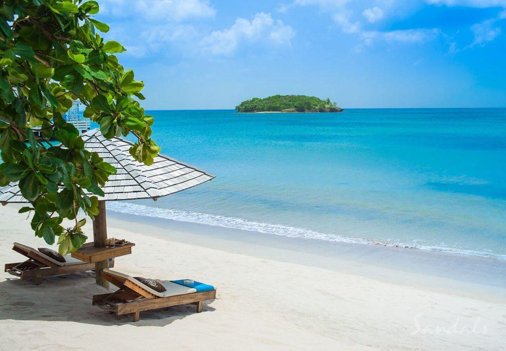 Sandals Halcyon Beach St. Lucia - Travel Time AZ