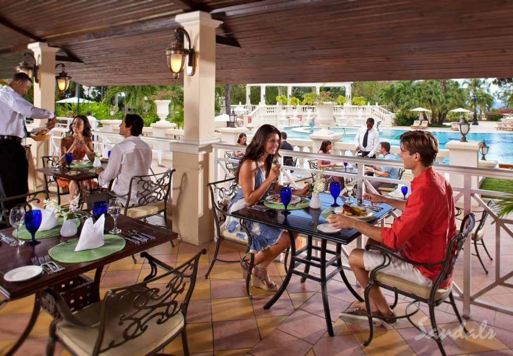 Sandals Resorts Restaurants